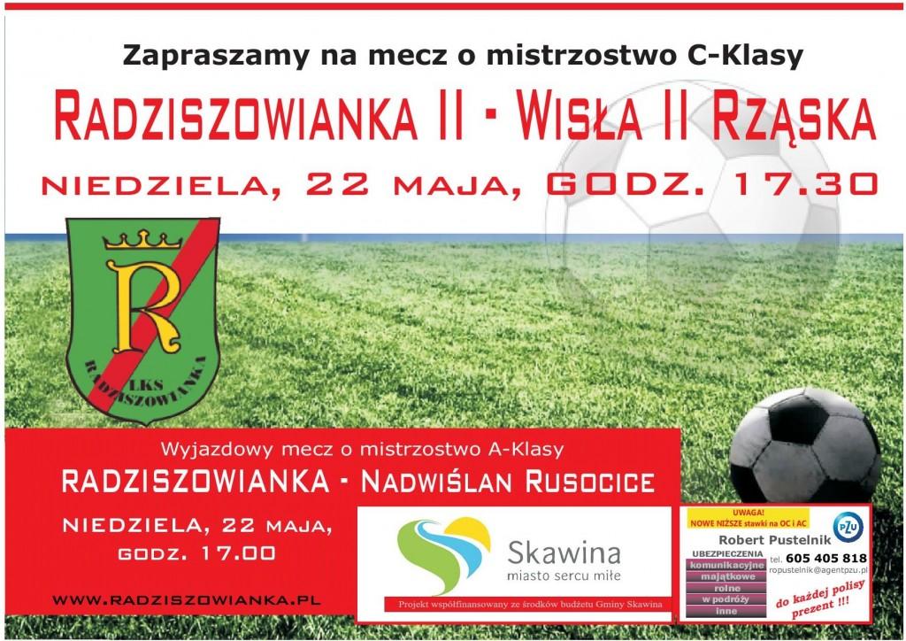 Plakat mecze 22.05.2016 (2)