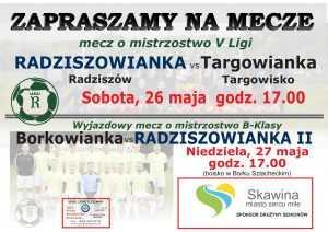 plakat na mecze 26-27.05.2018