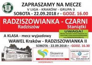radz - czarrni 22.09.2018