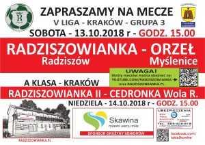 radz - orzel 13-14.10.2018